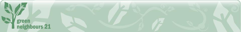 Green Neighbours 21 logo
